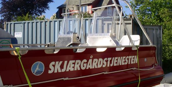 hårek båt til salgs